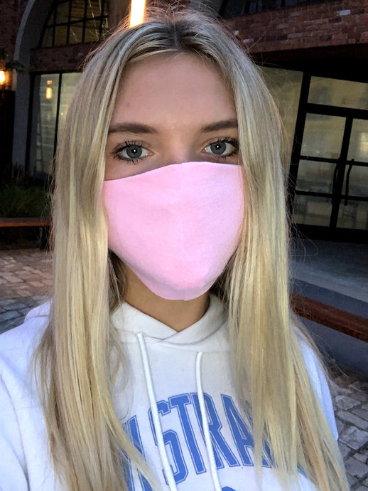 Bubble Gum Pink Mask