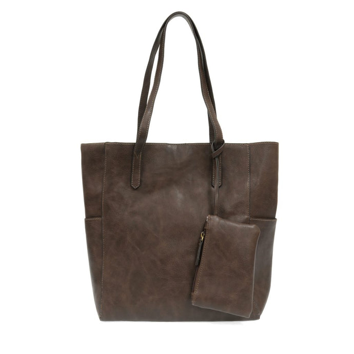 North South Bella Tote (Chocolate)