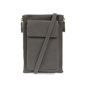 Mary Multi Crossbody (Charcoal)