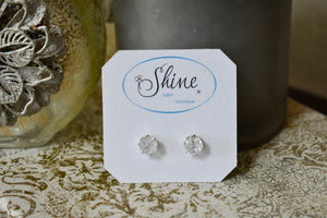 Detailed Crystal Studs