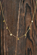 Multi Charm Necklace-Gold