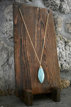 Sea Foam Stone Pendant Necklace