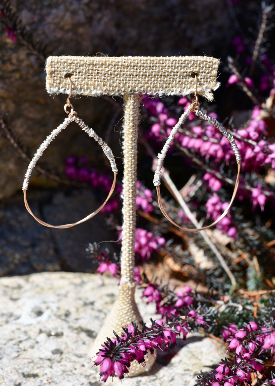 Wrapped Wire Earring