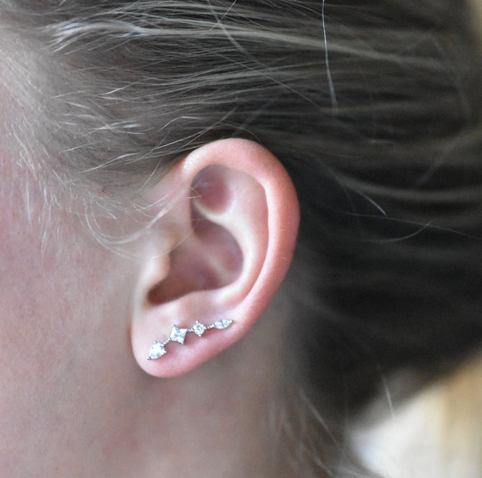 Ear Crawler (Multi Stone)