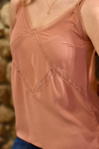 Dusty Rose Tank