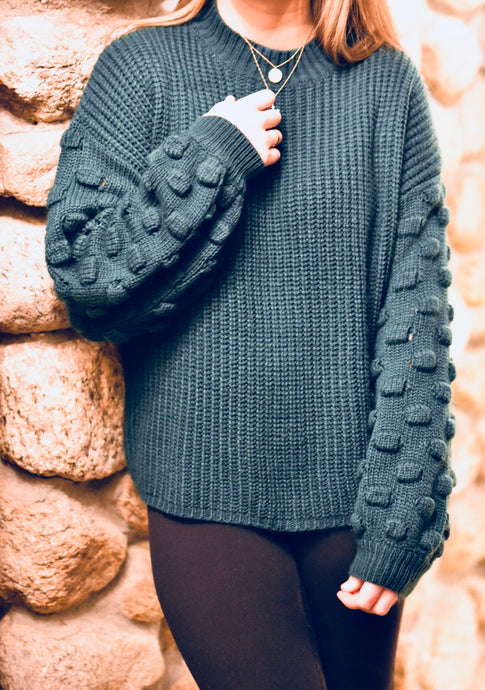 Forest Bubble Sweater