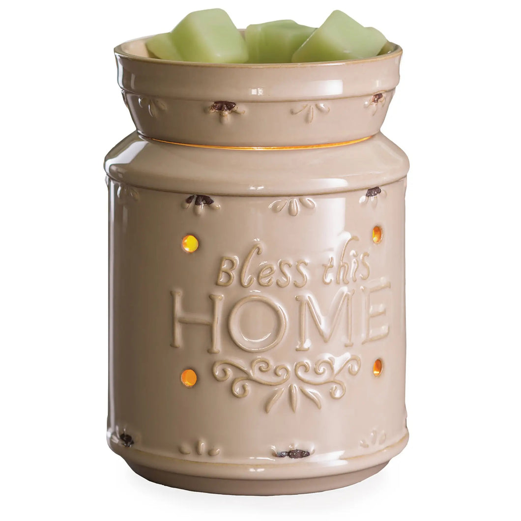 Bless This Home Illumination Fragrance Warmer