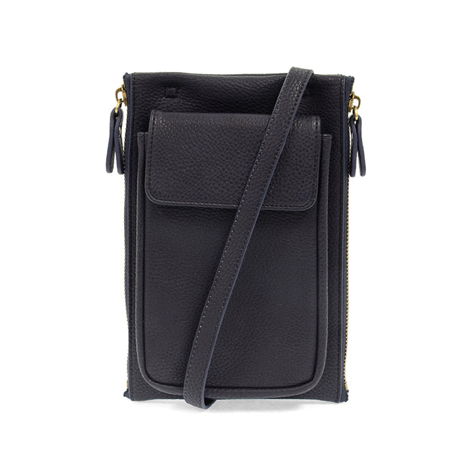 Mary Multi Crossbody (Navy)
