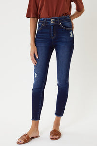 Kancan Double Button Jeans
