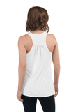 Already on the VIP list - Women's Flowy Racerback Tank (Light)
