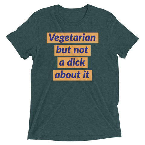 Vegetarian but not a dick about it