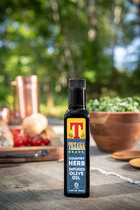 Texana Brand Country Herb Infused Olive Oil 250ml (8.5oz)