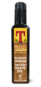 Texana Brand Roasted Onion Infused Olive Oil, 250ml (8.5oz)