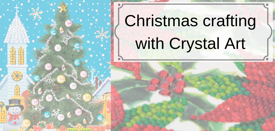Christmas crafting with Crystal Art