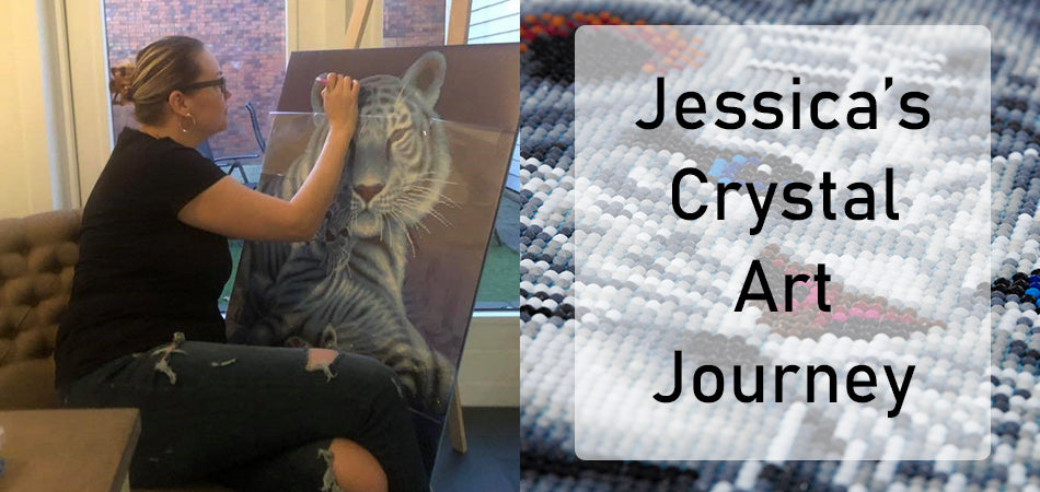 Jessica's Crystal Art Journey