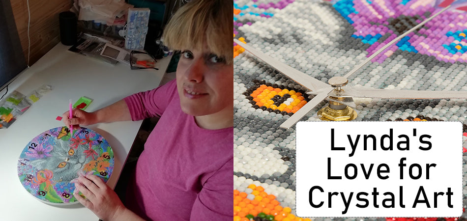 Lynda's Love for Crystal Art