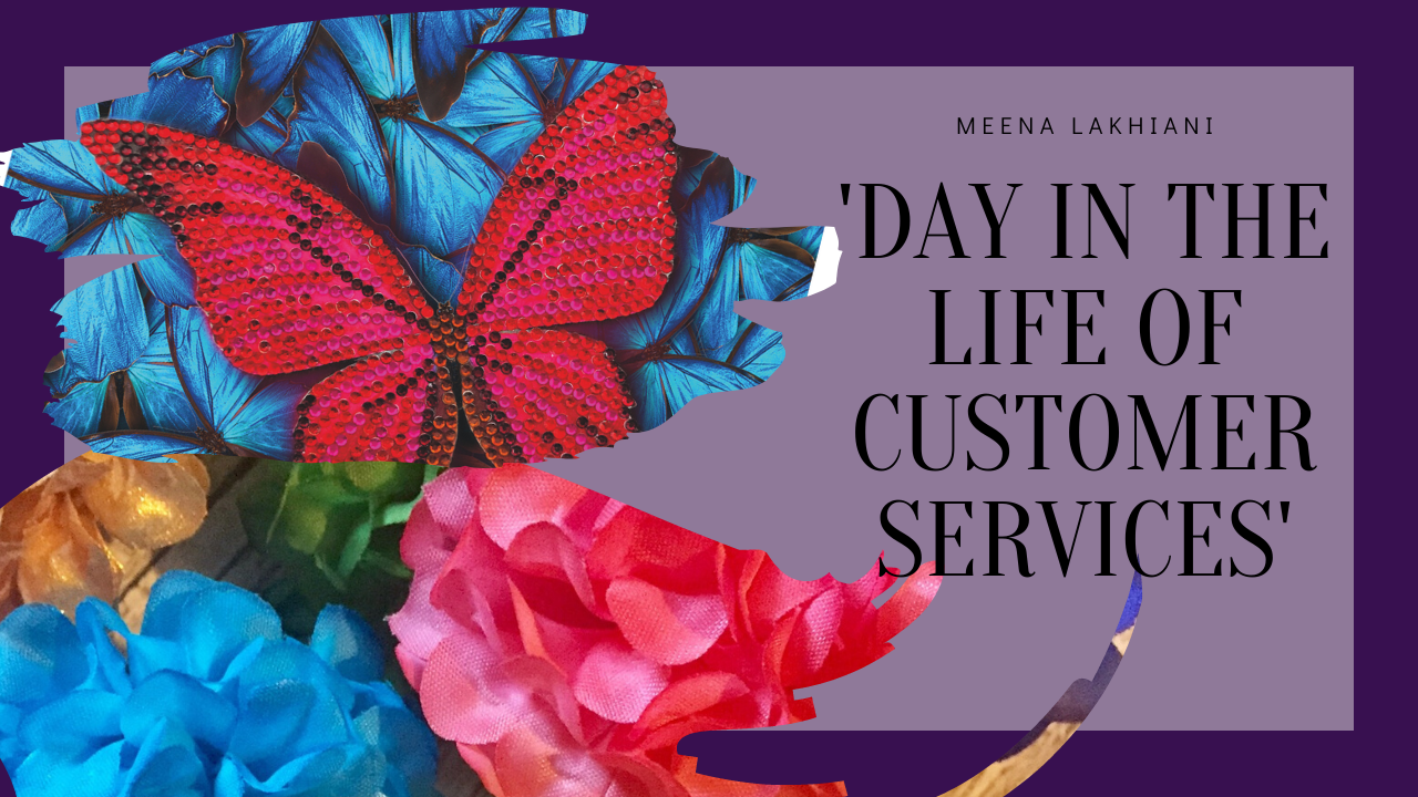 Meena - A day in the life of customer services