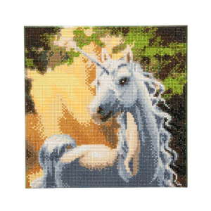 "CAK-A34: ""Sunshine Unicorn "" Framed Crystal Art Kit 30 x 30cm (Medium)"
