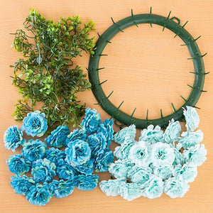 Craft Buddy Begonia Wreath Making Kit Harmony