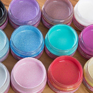 Shimmer Glitter Paints Collection