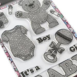 Craft Buddy Crystal Art Stamp Sets - Bundle of Joy