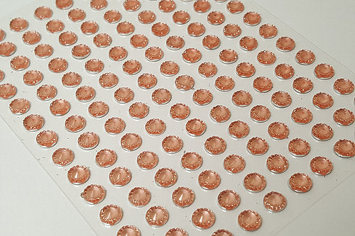 DBG04 - 140PCS 6mm Self Adhesive Pointed Resin Gems