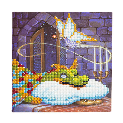 "CCK-A6. ""Dragon and the Cookie Fairy"" Crystal Card Kit"