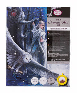 "CAK-AST1: ""Midnight Messenger"" 40 x 50cm (Large) - Anne Stokes"