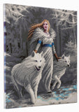 "CAK-AST8: ""Winter Guardians"" 40 x 50cm (Large) - Anne Stokes"
