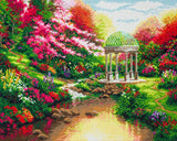 "CAK-TK5L: ""Pools of Serenity"""" 40x50cm Crystal Art Kit  THOMAS KINKADE"""
