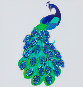 "Peacock - ""Spring"" Crystal Art Motifs (With tools)"