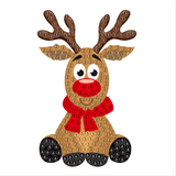"Reindeer - ""Christmas"" Crystal Art Motifs (With Tools) - CAMK-41"