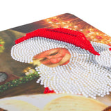 "CANJ-5 ""Santa's List"", Crystal Art Notebook"
