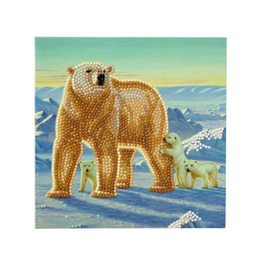 "CCK-A15: ""Polar Family"" Crystal Card Kit"