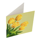 "CCK-A17: ""Spring Tulips"" Crystal Card Kit"