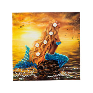 "CCK-A23: ""Mermaid Dreams"" Crystal Card Kit"