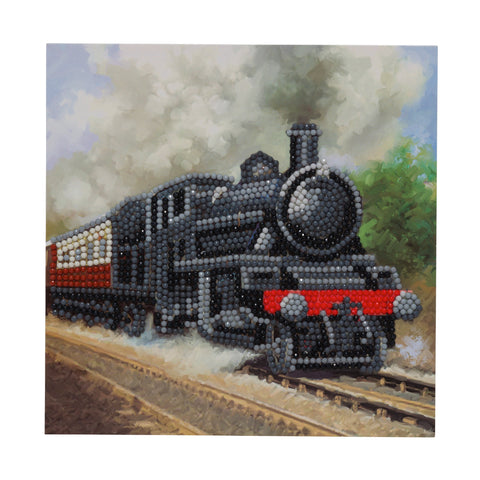 "CCK-A43 ""Train"" Crystal Art Card Kit"