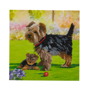"CCK-A46 ""Dogs"" Crystal Card Kit"