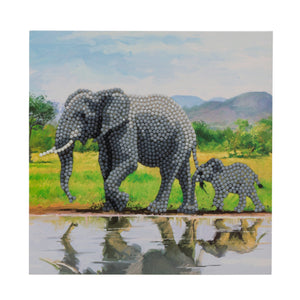 "CCK-A51 ""Elephant"" Crystal Card Kit"