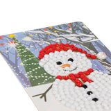 Christmas Snowman Mini Crystal Art Tester Kit