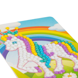 Unicorn Mini Crystal Card Kit