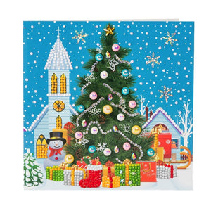 "CCK-XM30: ""Christmas Tree"" Crystal Card Kit"