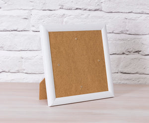 Crystal Art Card Frame - White - CCKF18-1