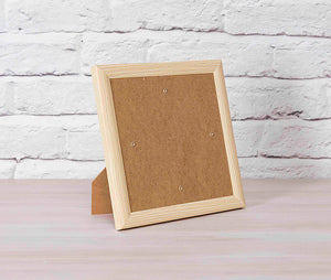 CCKF18-3 Crystal Art Card Frame - Wood Effect