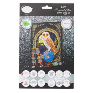"CCK-XL1 ""Spell Keeper Owl"" Giant Crystal Card Kit"