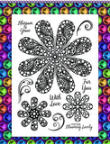 Gem It! Stamps - Floral Fancy