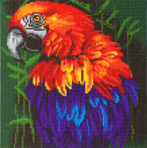 "CAK-A85: ""Tropical Bird"" 30 x 30cm (Medium)"