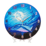 "CLK-S1: ""Watery Moon"" Crystal Clock Kit - 30cm"