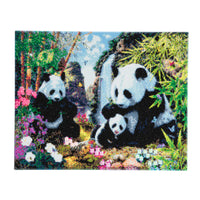 "CAK-A21: ""Panda Valley"" Framed Crystal Art Kit, 40 x 50cm"