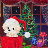 "CCK-XM4: ""Puppy for Christmas"" Crystal Card Kit"